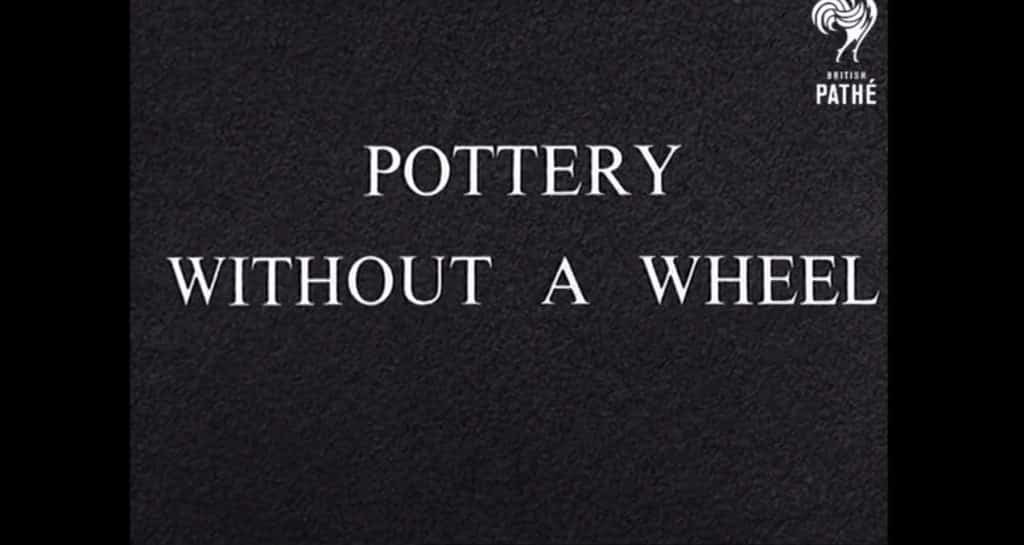 pottery without a wheel