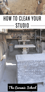 how to clean your studio