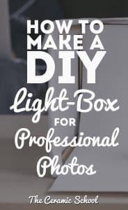 How to make a DIY Lightbox